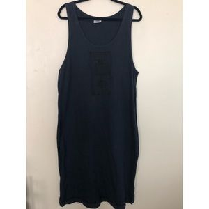 Vintage Johnny Was Sleeveless T-Shirt Dress